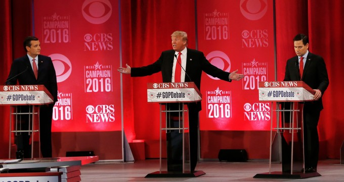 a review of a republican debate Who do you think won the fox news march 3 republican debate in detroit did donald trump do enough to maintain his hold on the republican party's nomination did marco rubio or ted cruz establish himself as the clear alternative.