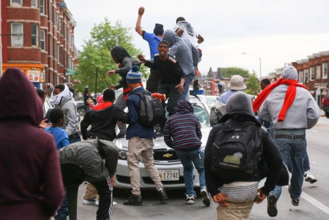 Baltimore Riots - Freddie Gray