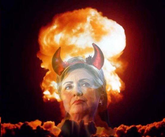HillaryinAtombomb