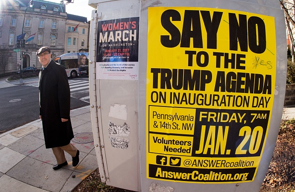 US-POLITICS-TRUMP-INAUGURATION-PROTEST