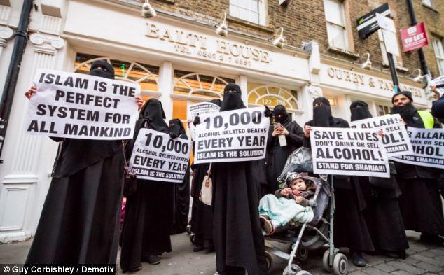 islamicprotestors