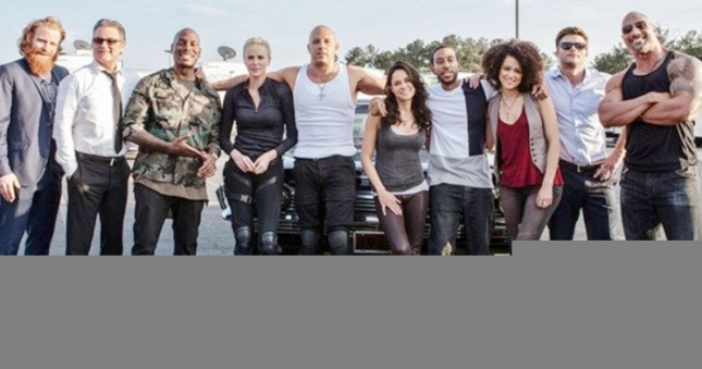 Fastandfurious 8 cast