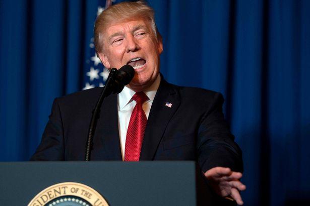 TrumpgivngSyrianspeech