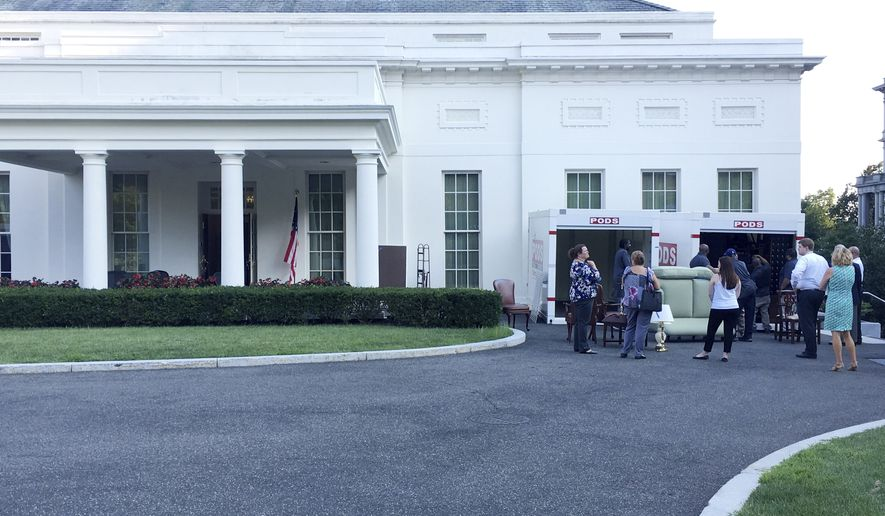 Trump Working Remotely While White House Renovated