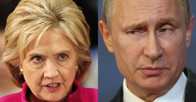 Clinton-vs-Putin