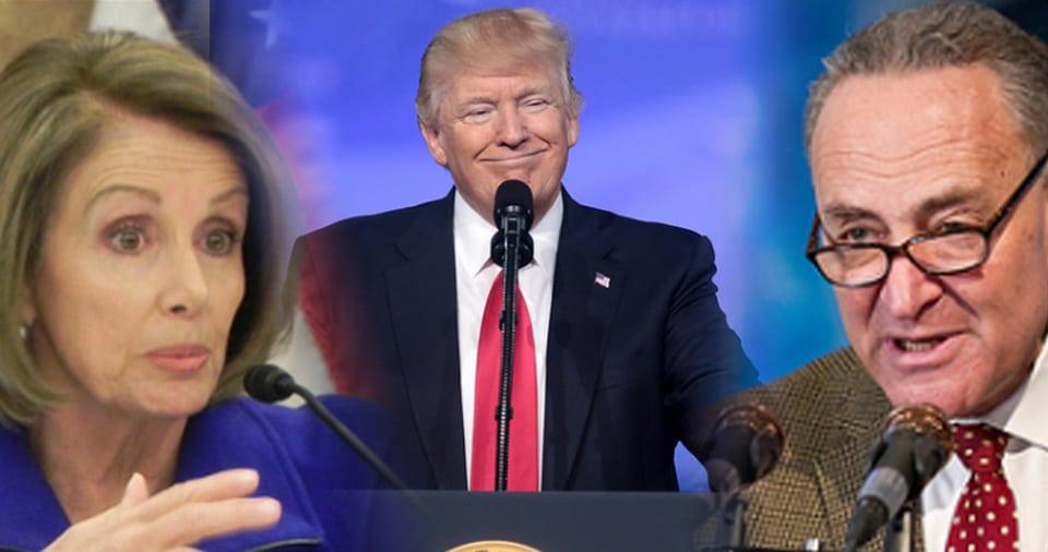 Pelosi-Trump-Schumer