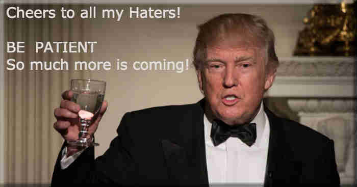 cheesrtoallmy haters
