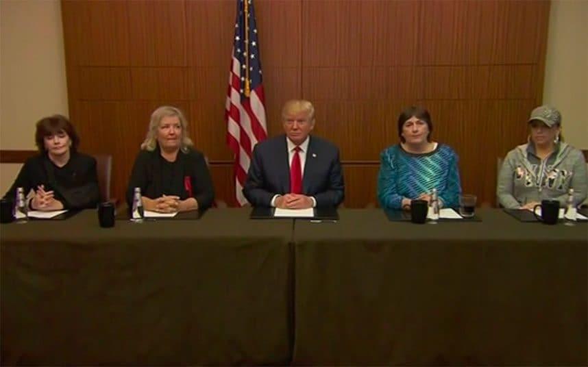 TrumpwithClintonaccusers
