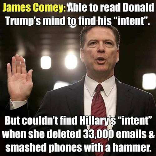 comey onHilalrye-mails