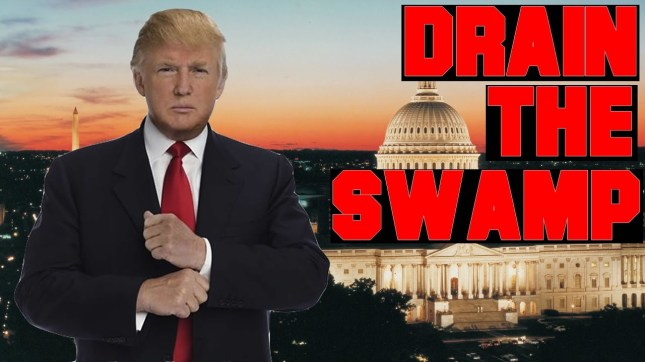 Trumpdrainstheswamp