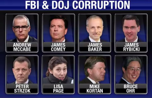 FBI DOJ corruption