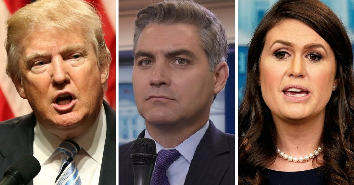 Donald_Trump_Jim_Acosta_Sarah_Sanders