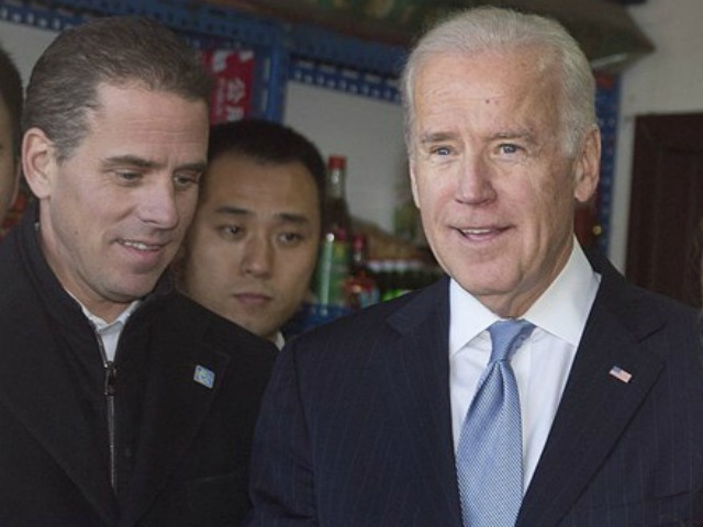 Biden and son