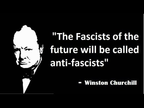 Churchill on fascists