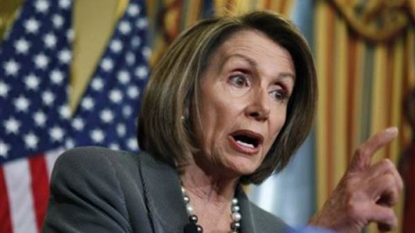 This image has an empty alt attribute; its file name is pelosi-scared-600x337-1.jpg