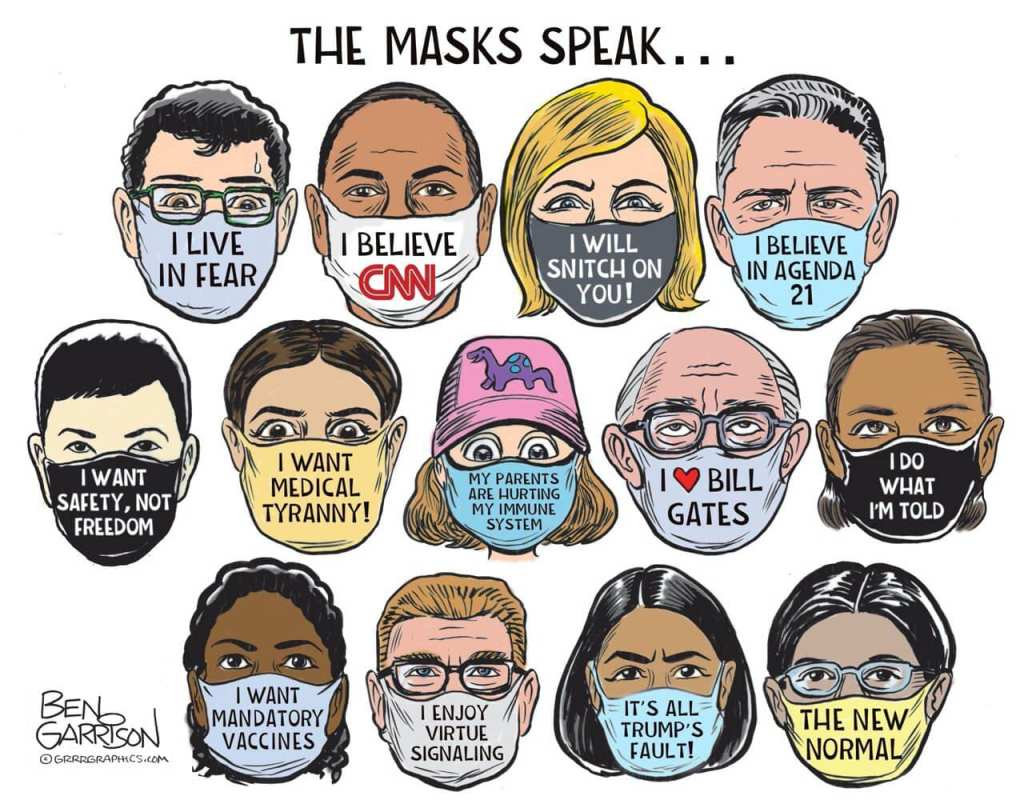 This image has an empty alt attribute; its file name is ben-garrison-masks-cartoon.jpg